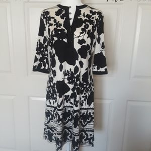 Chetta B Silk Short Sleeve  Dress
